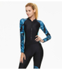 Long Sleeve Sun Protection One piece Wetsuit for Surfing Diving