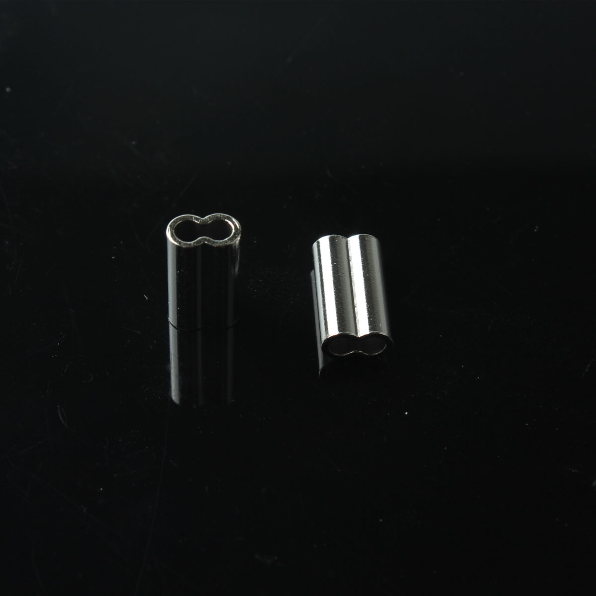 0.6mm-2.2mm stainless sleeve fishing brass crimps