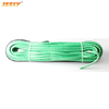 9mm*12m 3/8'' x 40' Synthetic Fiber UHMWPE Towing Winch Cord with thimble for ATV/UTV Winch Rope