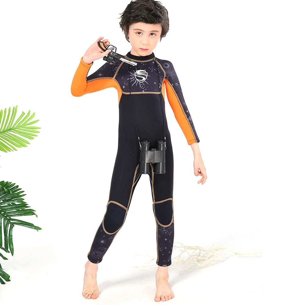 Neoprene Back Zip Scuba Diving Wetsuit for Kids Boy
