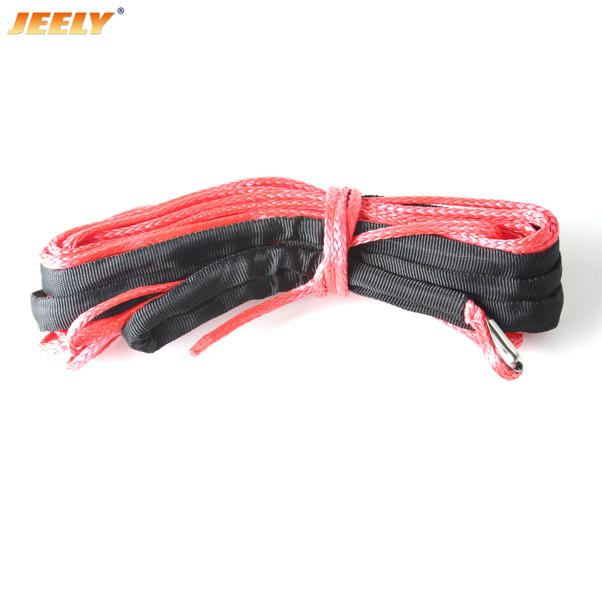11MM 30M 12 Weave UHMWPE Synthetic Winch Rope for BOAT/OFF-ROAD/ATV/UTV/SUV/4X4/4WD auo parts