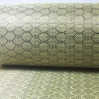 3K 240g Hexagon Honeycomb Carbon Fiber used for Decoration
