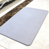 390mmX600mm Customized Color and Pattern Absorbent Diatomite Bath Mat