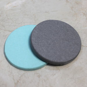 100mm*100mm Customization Color printing Diatomite Bath Mat diatomite tea cup coaster
